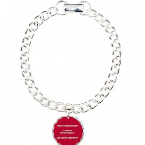 Panhypopituitarism Medical Information Bracelet
