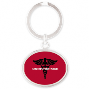 Panhypopituitarism Oval Keychain